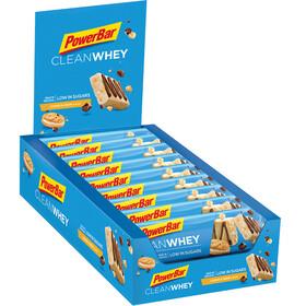 PowerBar Clean Whey Riegel Box Cookies & Cream 18 x 45g